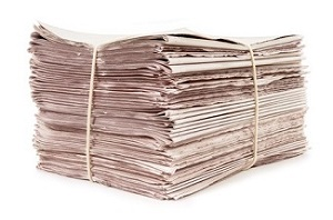 Newspapers Stack
